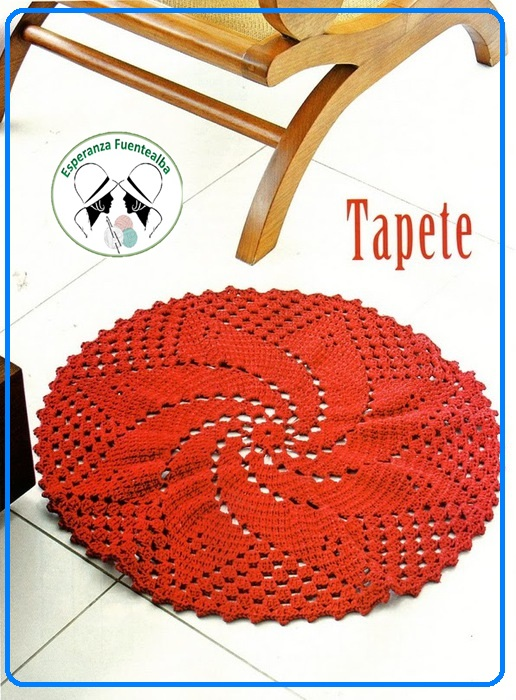 Tapetes a crochet