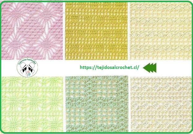 Patrones de puntos a crochet