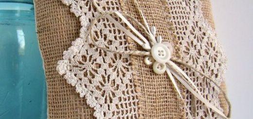 crochet decoración