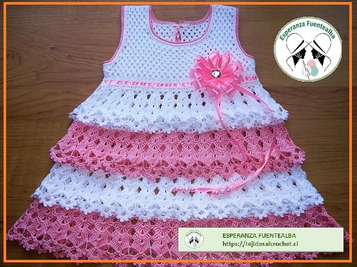 Vestidos de bebe niña patrones