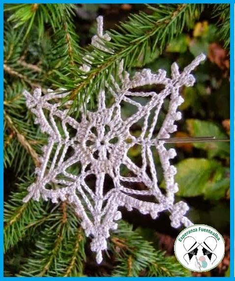 Adornos de navidad crochet