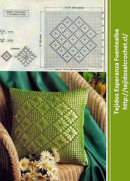 Almohadones a crochet1