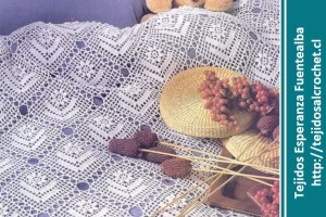Colchas Tejidas Al Crochet Una Selección De Colchas Con Esquemas Gratis