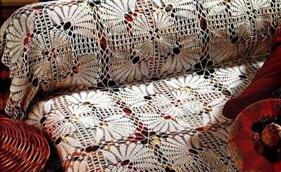 Colchas tejidas a crochet