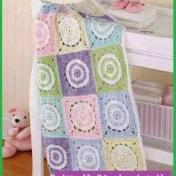 Colchitas para bebe tejidas a crochet