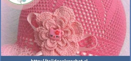 Como hacer un gorro a crochet