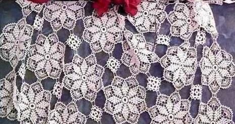 Como tejer un mantel a crochet