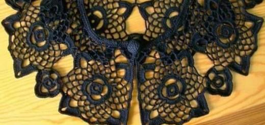 Cuellos tejidos a crochet