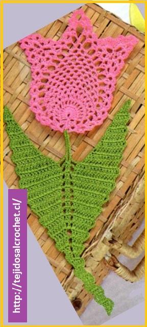 Patrones de flores a crochet3