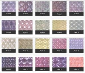 Puntos de tejido