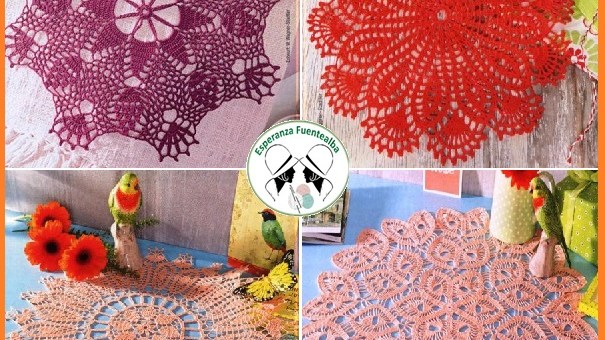 Trabajos de ganchillo o crochet