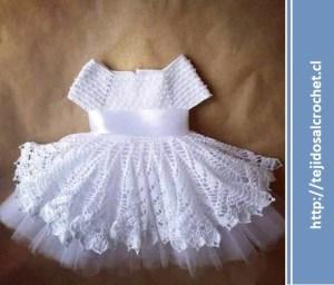 Vestidos tejidos de niña