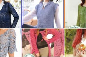 Chalecos tejidos al crochet