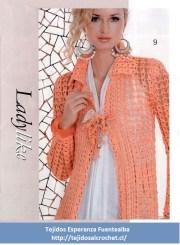 Patrones de abrigos. Un hermoso abrigo de verano tejido al crochet