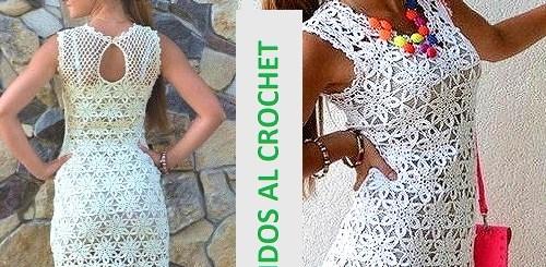 Patrones de vestidos tejidos