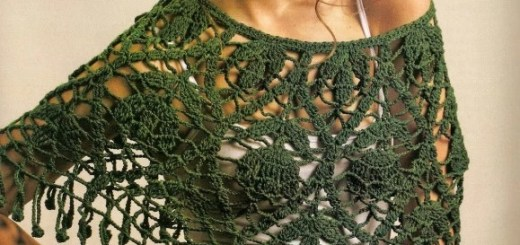 Ponchos en crochet