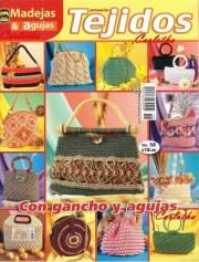 Revistas para tejer. Revista especial con bolsos tejidos al crochet