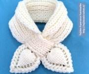 Tutorial para tejer bufandas. Vídeo tutorial bufanda en crochet. Imperdible