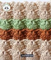 Tutoriales crochet gratis. Puntada de fantasía extraordinaria