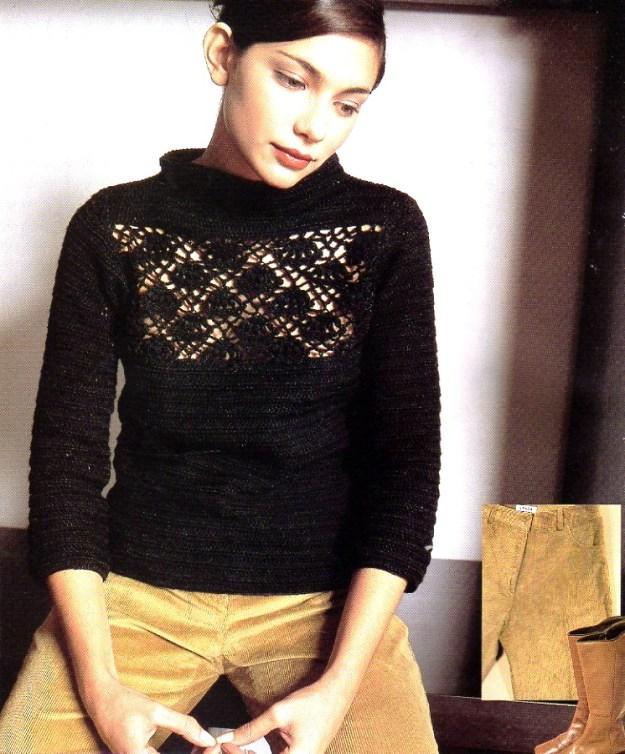 Jersey crochet básico