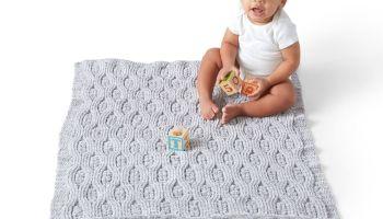 Manta para bebe texturizada -Patrón-