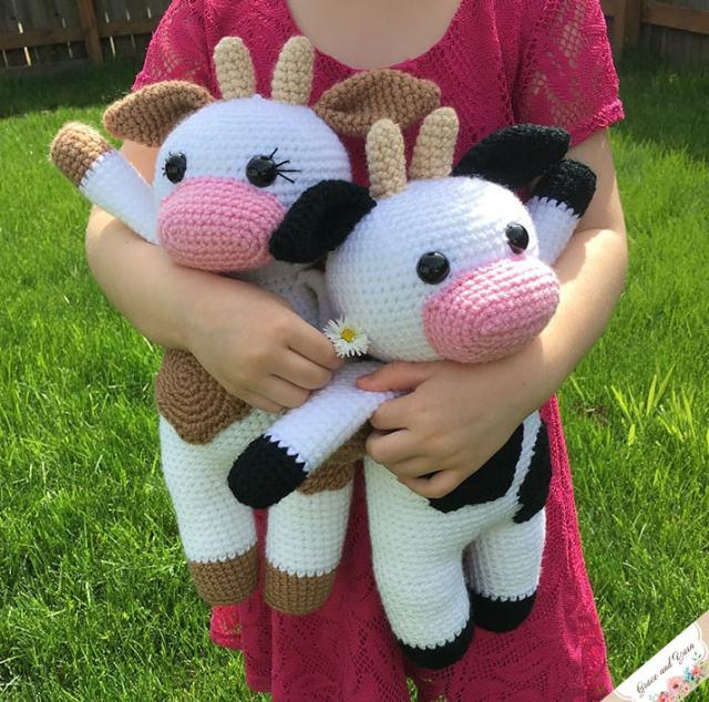 Amigurumi crochet Vaquitas Tejidos Crochet