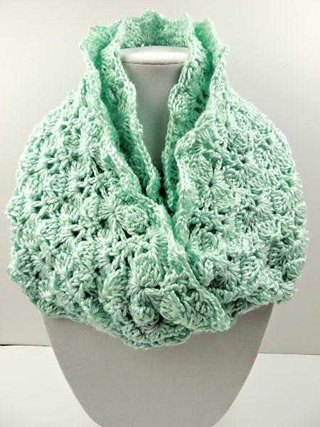 auténtico en stock nueva colección Crochet Bufanda Infinita 9 - Tejiendo de Corazon