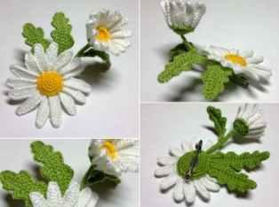 Patrón gratis margarita crochet