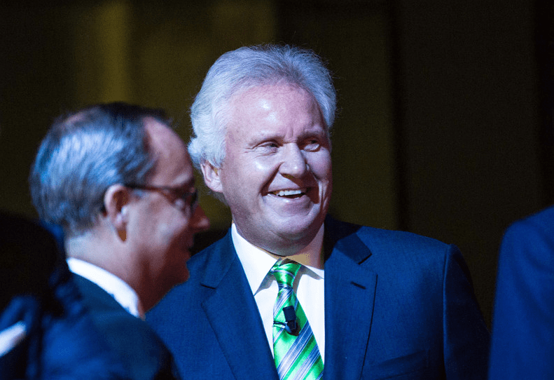 Former GE CEO Jeff Immelt