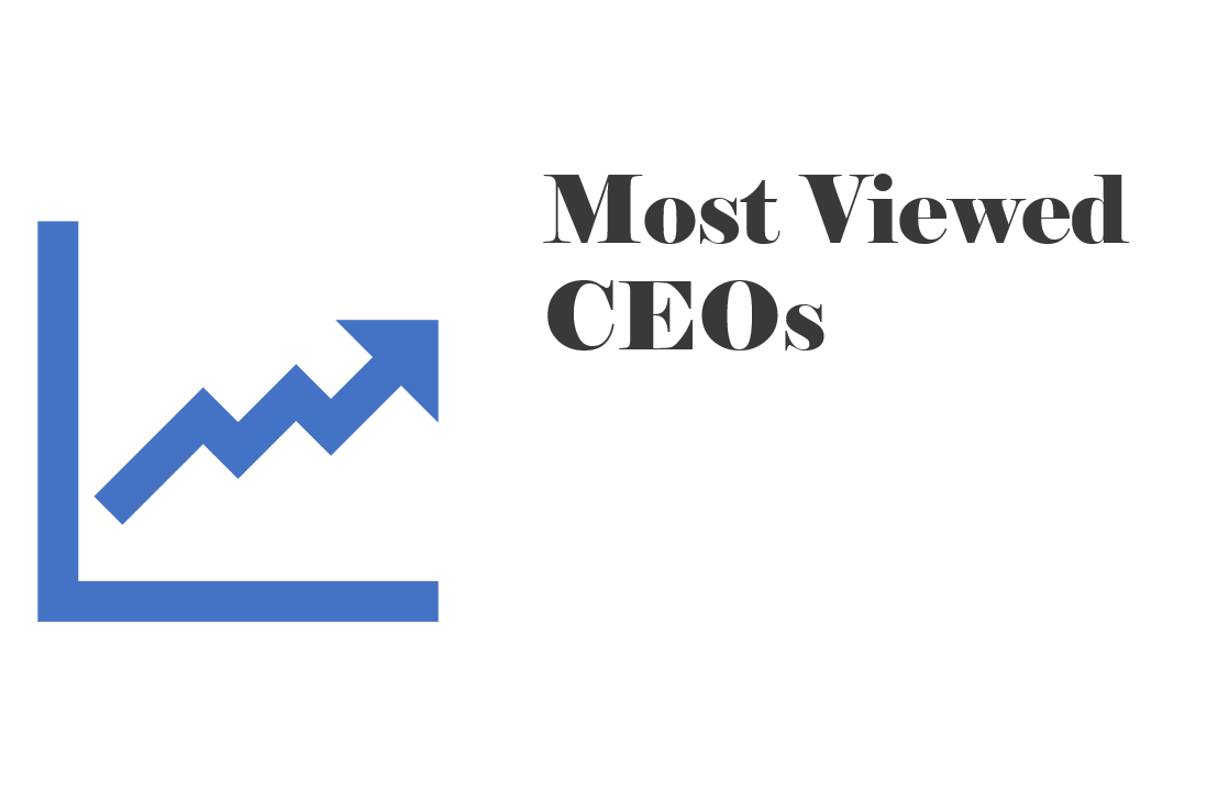Most Viewed CEOs on CEORater