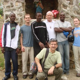 Staff and volunteers in Jeremie