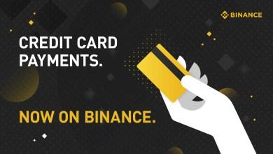 Photo of منصة Binance تفتح شراء العملات الرقمية باستخدام بطاقات الائتمان