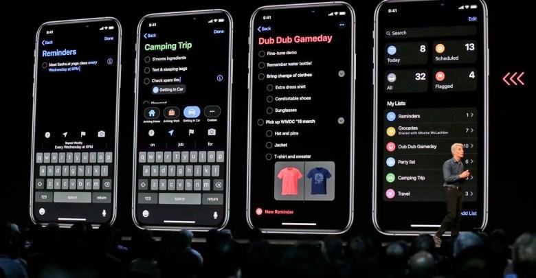 موعد إطلاق تحديث نظام iOS 13