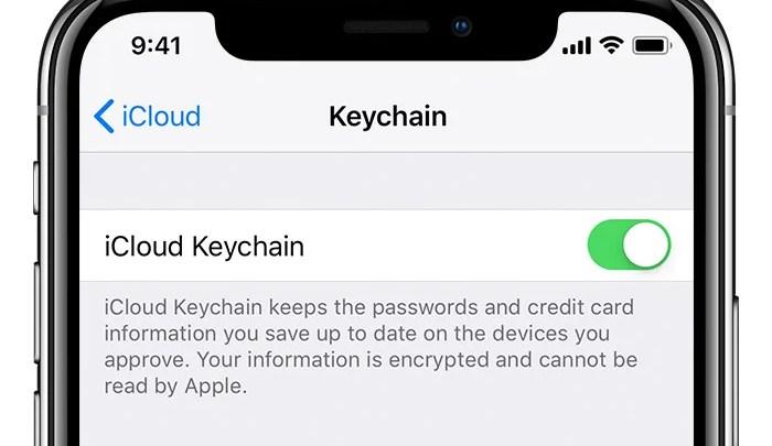 ما هي خدمة iCloud Keychain طريقة تفعيلها و إستخدامها - تقني نت تكنولوجيا