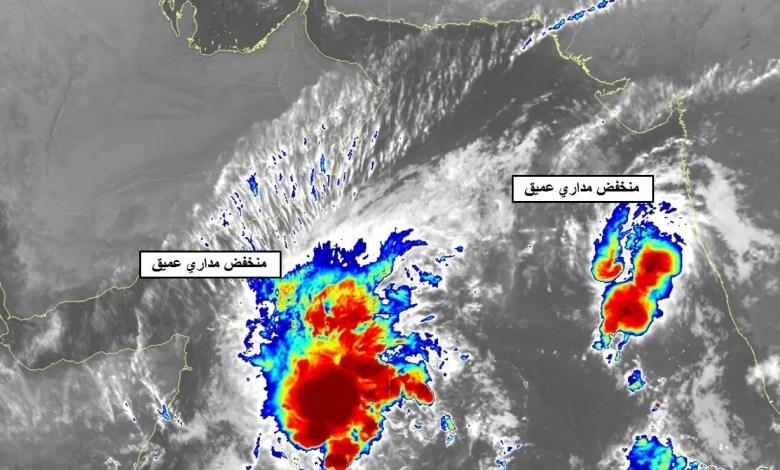 الأرصاد : بحر العرب يشهد منخفض مداري عميق آخر - تقني نت سلطنة عمان