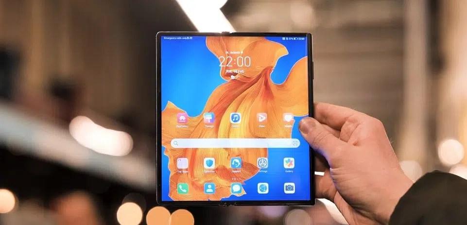 هواوي تعلن عن هاتفها Mate XS 2020 القابل للطي - تقني نت هواتف ذكية