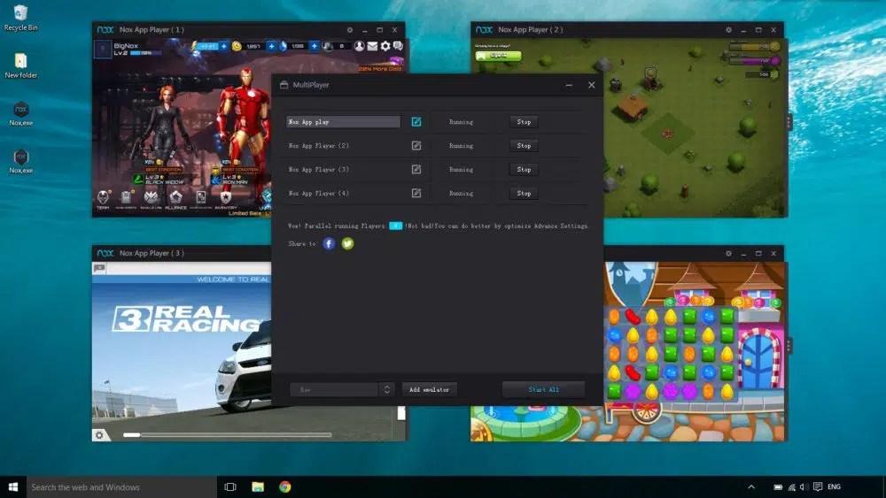برنامج Nox Player لتشغيل الألعاب على الكمبيوتر - تقني نت التكنولوجيا