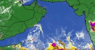 حالة مدارية في بحر العرب و الارصاد العمانية تصدر بيان - تقني نت سلطنة عمان