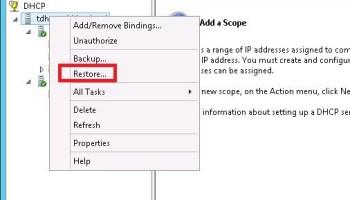 Remove DHCP server role on Windows Server 2012 R2   TekBloq