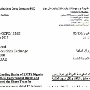 Why Nigerian Banks Or Etisalat Nigeria Acquirer Will Continue To Pay Etisalat UAE