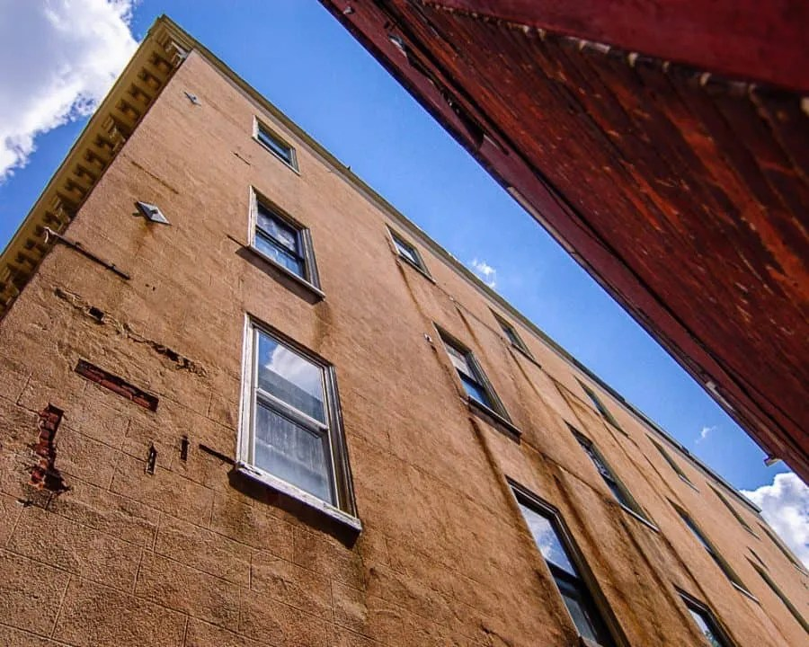 Pennsylvania, Learn-photography, Buildings, Jim-Thorpe, Blue-Sky, Clouds