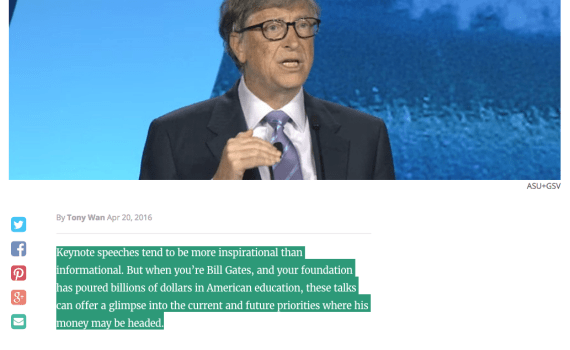 Bill Gates New Majority