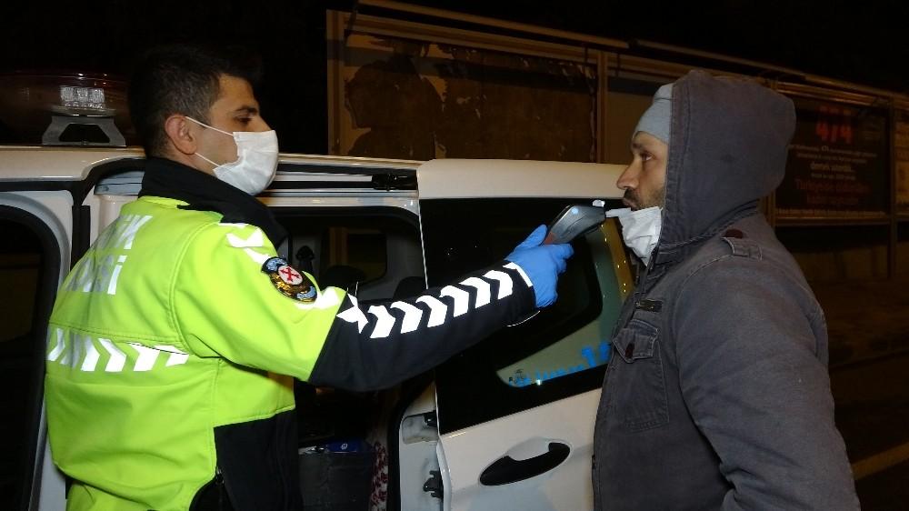 Kaldırıma çarpan sürücüye kısıtlama cezası