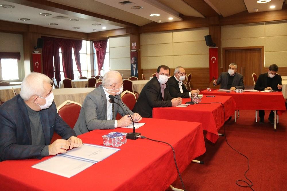 TESKİ'nin Ergene'ye yapacağı yatırımlar masaya yatırıldı