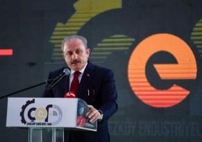 """TBMM Başkanı Şentop: """"Türk firmaları rakip ülkeleri korkuttu"""""""