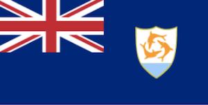 英国海外領土アンギラの国旗