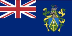 ピトケアンの国旗 英国海外領土
