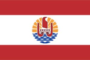 フレンチポリネシアの国旗