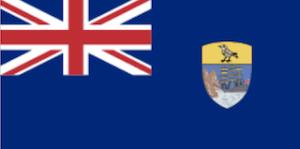 英国海外領土セントヘレナの国旗