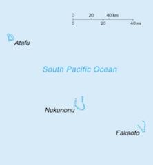 トケラウの地図
